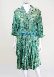 1940s dresses vintage green andre de brett tea dress size 18 1940s dress 40s