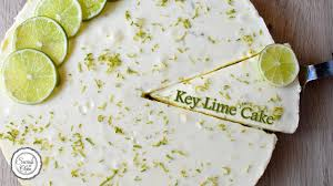 key lime cake youtube