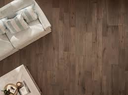 porcelain stoneware flooring with wood effect soul walnut by