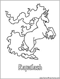 ponyta coloring pages getcoloringpages com