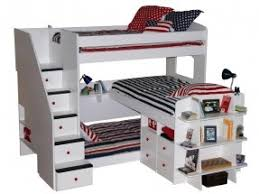 3 Person Bunk Bed Bunk Beds For Foter