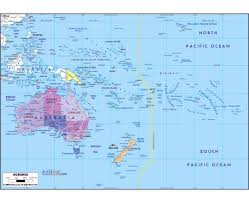 Map Of Usa With Capitals And Major Cities by Maps Of Oceania And Oceanian Countries Political Maps Road And