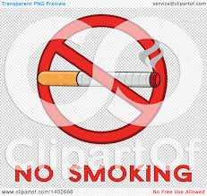 no smoking sign transparent background clipart of a cartoon cigarette in a prohibited restricted symbol