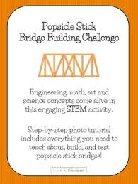 Challenge Tutorial Stem Popsicle Bridge Building Challenge Step By Step Tutorial Tpt