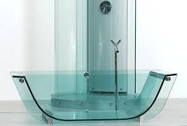 Colored Bathtubs Glass Tub Prizma Studio