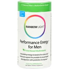 rainbow light prenatal one multivitamin rainbow light performance energy for men multivitamin 180 tab