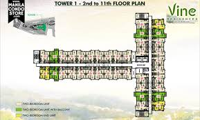 Centralized Floor Plan by Smdc Vine Residences