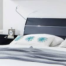 Schlafzimmer Spiegel Mit Beleuchtung Komplett Schlafzimmer Glacey In Schwarz Pharao24 De