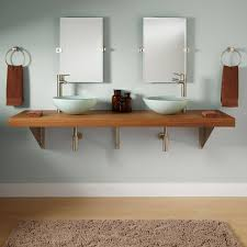 Teak Vanities Bathroom Vanity With Vessel Sink Mount 355682 L Teak Vanity Slab
