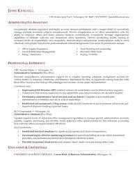 Executive Assistant Resume Templates Administrative Assistant Resume Inspiredshares Com