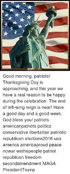 being goal iotic morning patriots thanksgiving day is