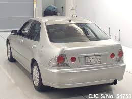lexus altezza stock 2002 toyota altezza silver for sale stock no 54753 japanese