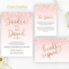 pink and gold wedding invitations best pink wedding invitations products on wanelo