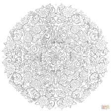 last days in the secret garden by namtia coloring page free