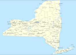 Buffalo New York Map New York State Airports Map
