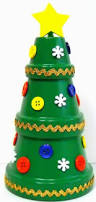 Mini Christmas Tree Crafts - best 25 potted christmas trees ideas on pinterest christmas