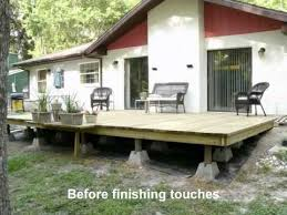 building our backyard deck youtube