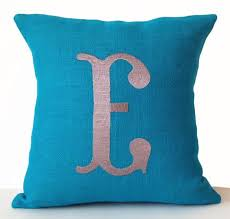 decorative monogrammed pillows and monogrammed throw pillows