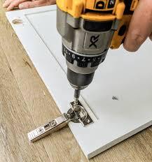 kitchen cabinet door hinge drill bit how to install soft hinges on any kitchen cabinet door