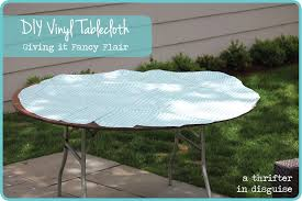 Oblong Table Cloth A Thrifter In Disguise Operation Vinyl Tablecloth