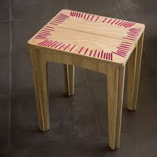 stitched stool u2013 crowdyhouse
