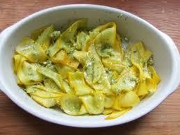 cuisiner les courgettes jaunes tagliatelles de courgettes jaunes au pesto de coriandre recette