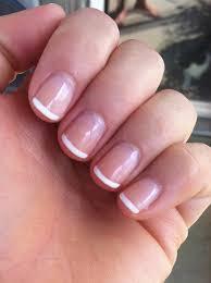 no chip french manicure amazing nails pinterest manicure