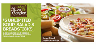 olive garden 5 99 unlimited soup salad breadsticks