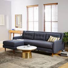 Build Your Own Sofa Sectional Build Your Own Crosby Mid Century Sectional Pieces West Elm