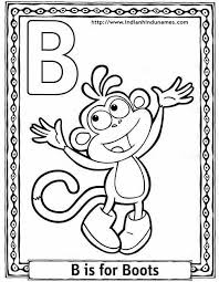 alphabet coloring pages 4 coloring kids