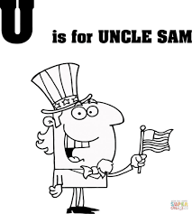 uncle sam coloring pages free tags uncle coloring pages sketch