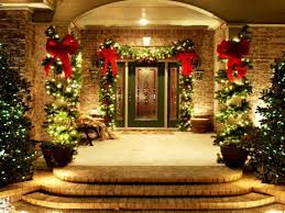christmas ideas for hanging christmasights outside putting up