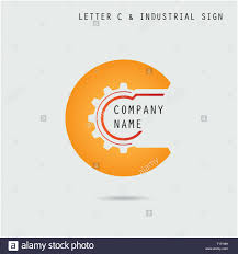 Business Letter Logo by Creative Letter C Icon Abstract Logo Design Template With Industry