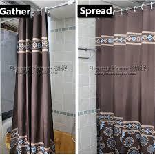 badezimmer vorhang shop 150 cm moderne kaffee farbe polyester wasserdicht