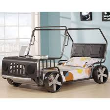 Acme Furniture Acme Furniture Jeep Style Twin Youth Bed In Silver Local