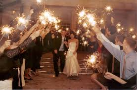 sparklers for wedding wedding sparklers light up the bliss events mexico