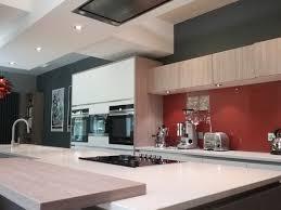white grey oak pearl grey handleless kitchen