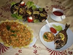 cuisine tunisienne poisson mon complet poisson avec sa tastira tunisienne et sa sauce