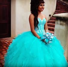 sweetheart crystal beaded turquoise quinceanera dress sweet 16