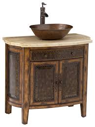 rustico vessel sink chest traditional bathroom vanities and sink consoles