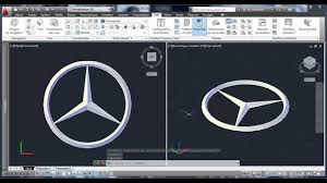 mercedes logo vector autocad 3d logo mercedes youtube