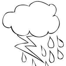 thunder and lighting bolt coloring page thunder and lighting bolt