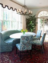curved settee for round dining table 23 interior design ideas