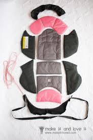 Carseat Canopy For Boy by Recovering A Baby Car Seat Make It And Love It