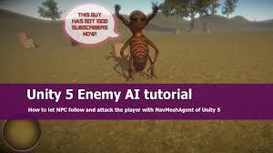 Unity Tutorial Enemy Ai | unity 5 fps enemy ai tutorial youtube