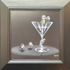 martini olive art michael godard apple art works