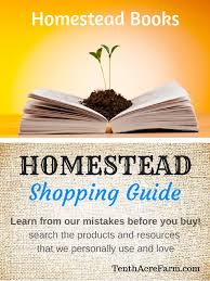 Backyard Homestead Book by Homestead Books Tenth Acre Farm