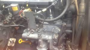 deutz bf4m1012e motorlauf nach starten im standgas motor kalt 1012