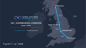 One World Route Map by Three Hyperloop Routes That Would Transform The Uk Economy