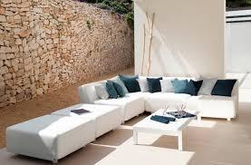 canapes modulables tissus canapé modulable contemporain de jardin en tissu mirthe by